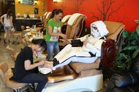 #3 It's ''me time.'' Spoil, pamper and be decadent to yourself like you never have before. Oh, and P.S., you're dressed as a Stormtrooper.