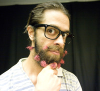 #51 Create the next hip facial hair look or hipster accessory.
