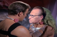 #89 (Video) Create an Oscar-worthy love scene between William Shatner and Larry King using creative editing of existing footage of each of them.